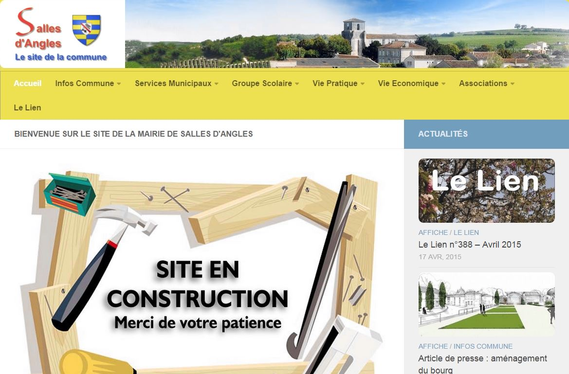 Site Salles d'Angles