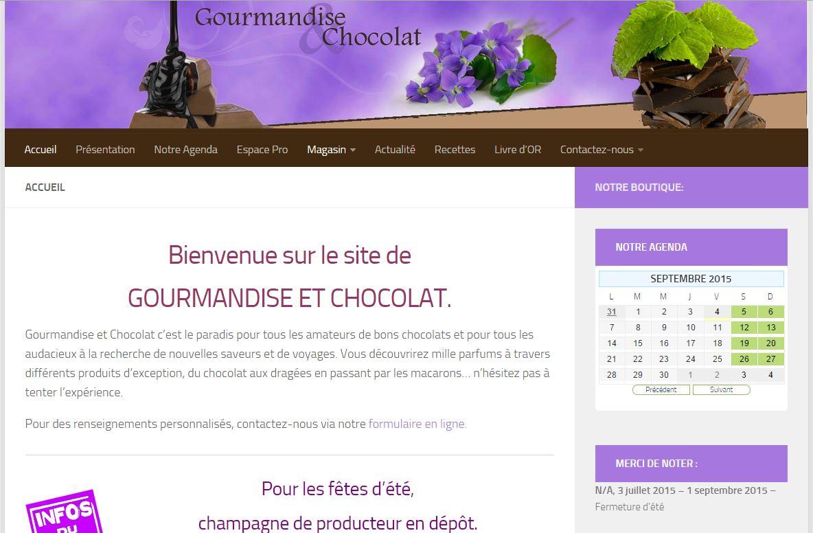 Gourmandise et Chocolat